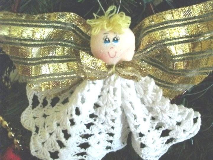 De mis manos tejidos y mas adornos para navidad for Adornos navidenos tejidos a crochet 2016