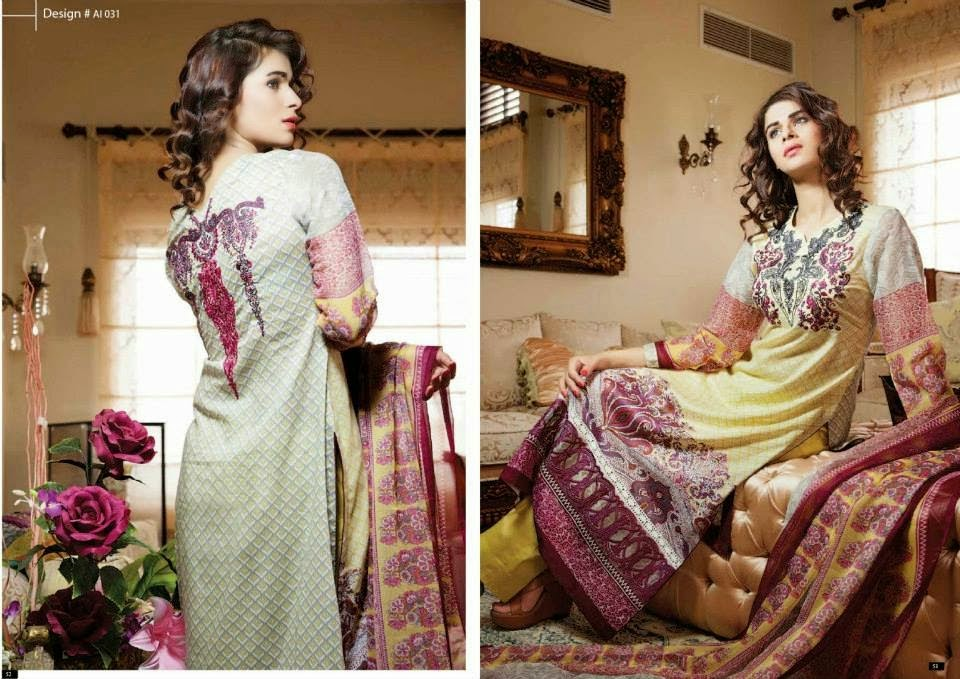 Amna Ismail Party Wear Dresses 2014