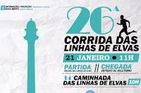 ELVAS: 26ª CORRIDA DAS LINHAS DE ELVAS