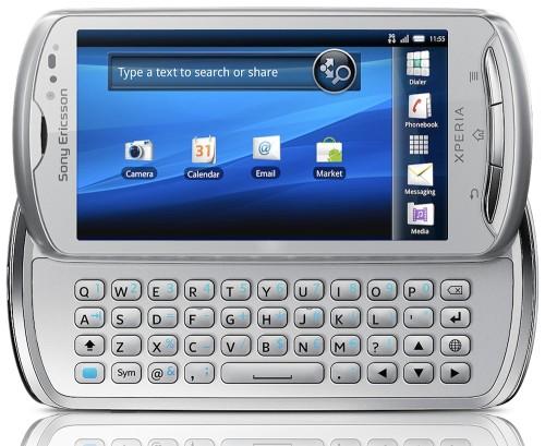 Sony Ericsson Xperia Pro Gümüş