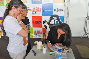 Ana Lilian de La Macorra (Paty) e eu 22/07/2018