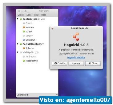 Haguichi, Hamachi para Linux