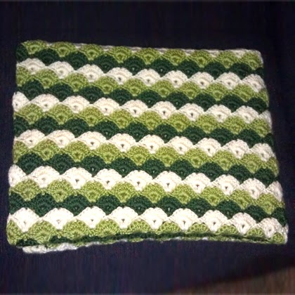 Turtle Shell Lapghan - Free Pattern