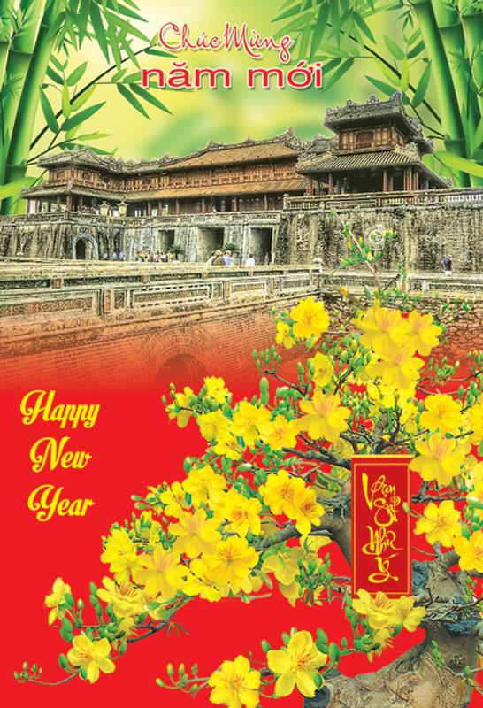 Thiệp chúc mừng năm mới độc đáo