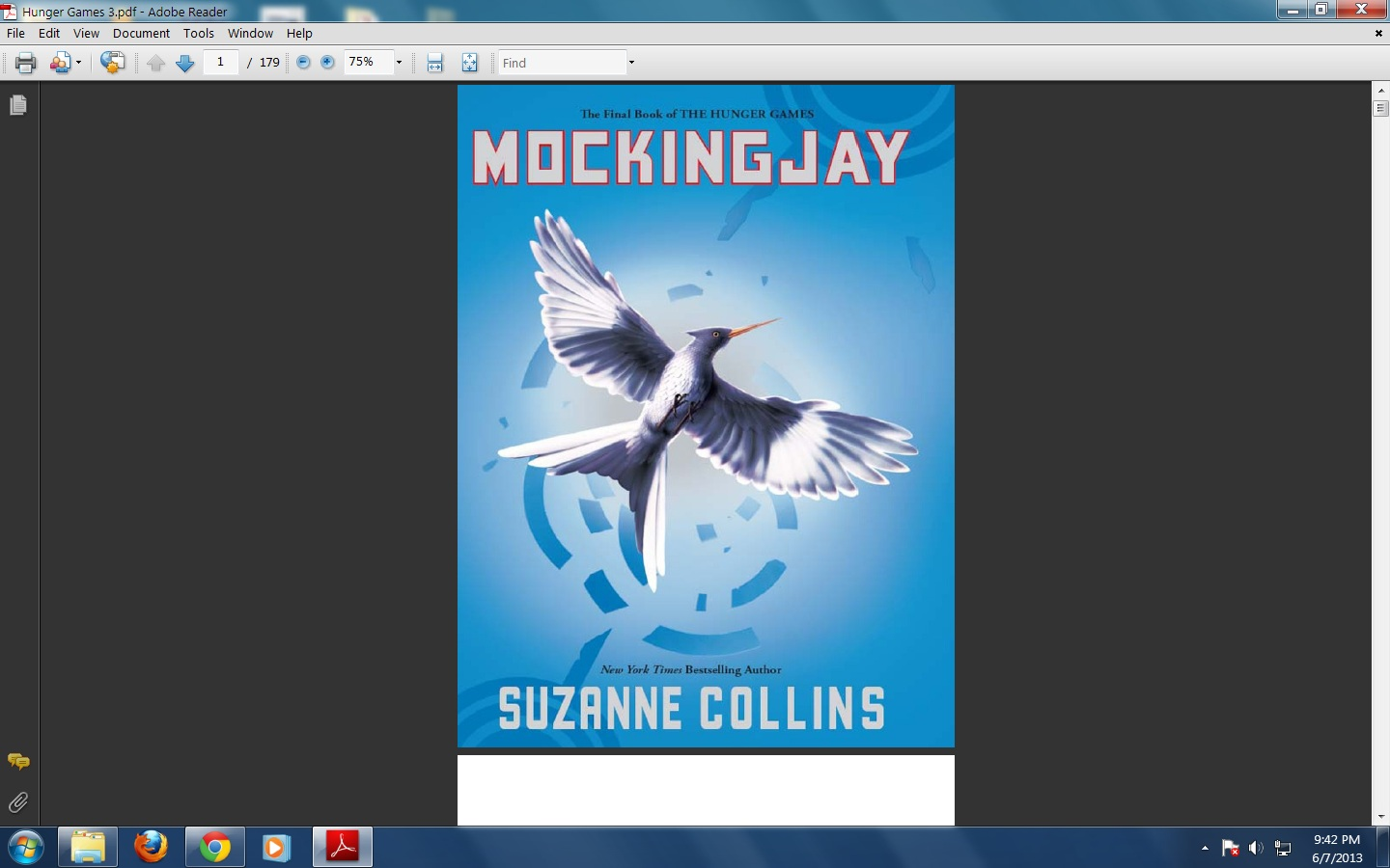 hunger games book report conclusion Mockingjay is a 2010 science fiction novel by american author suzanne collinsit is the last installment of the hunger games, following 2008's the hunger games and 2009's catching firethe book continues the story of katniss everdeen, who agrees to unify the districts of panem in a rebellion against the tyrannical capitol.