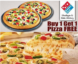 Dominos pizza buy 1 get 1 free coupon
