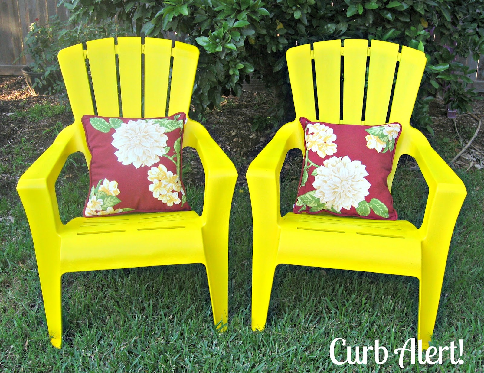 curb alert quick 15 minute update outdoor patio chairs. Black Bedroom Furniture Sets. Home Design Ideas