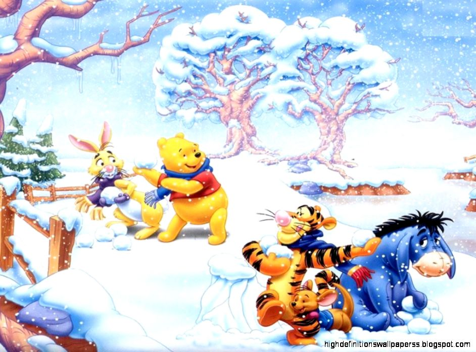 View Original Size Winnie The Pooh Christmas Wallpaper 2735471 Fanpop