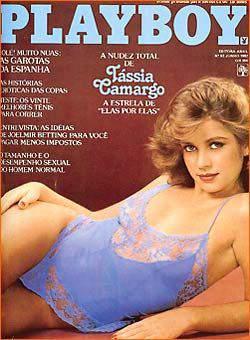 Tássia Camargo Playboy 1982