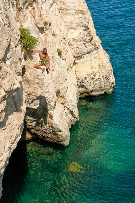 Sport climbing Malta