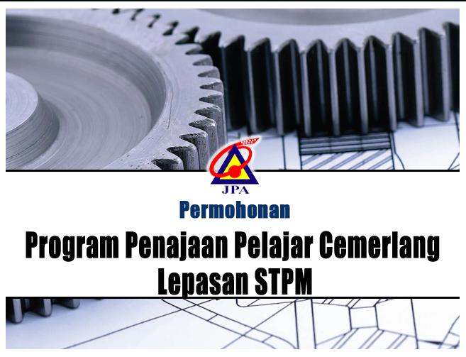 Permohonan Program Penajaan Pelajar Cemerlang Lepasan STPM 2014