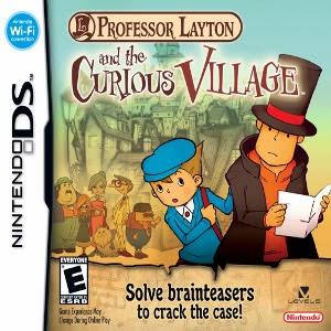 Profesor Layton y la Villa Misteriosa  rom español game cover