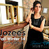 Jozees Fall-Winter Collection 2014-2015 | Cotton Silk Kurti With Chiffon Sleeves