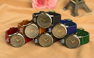 kado jam tangan untuk pria dan wanita