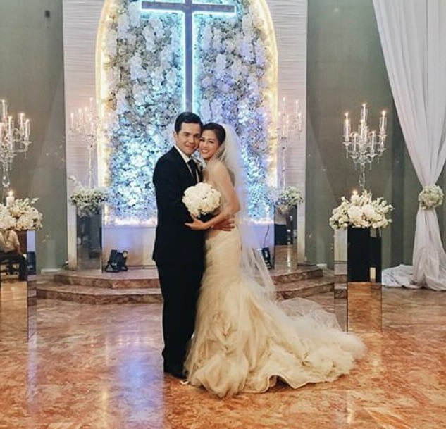 Paul Soriano and Toni Gonzaga tied the knot