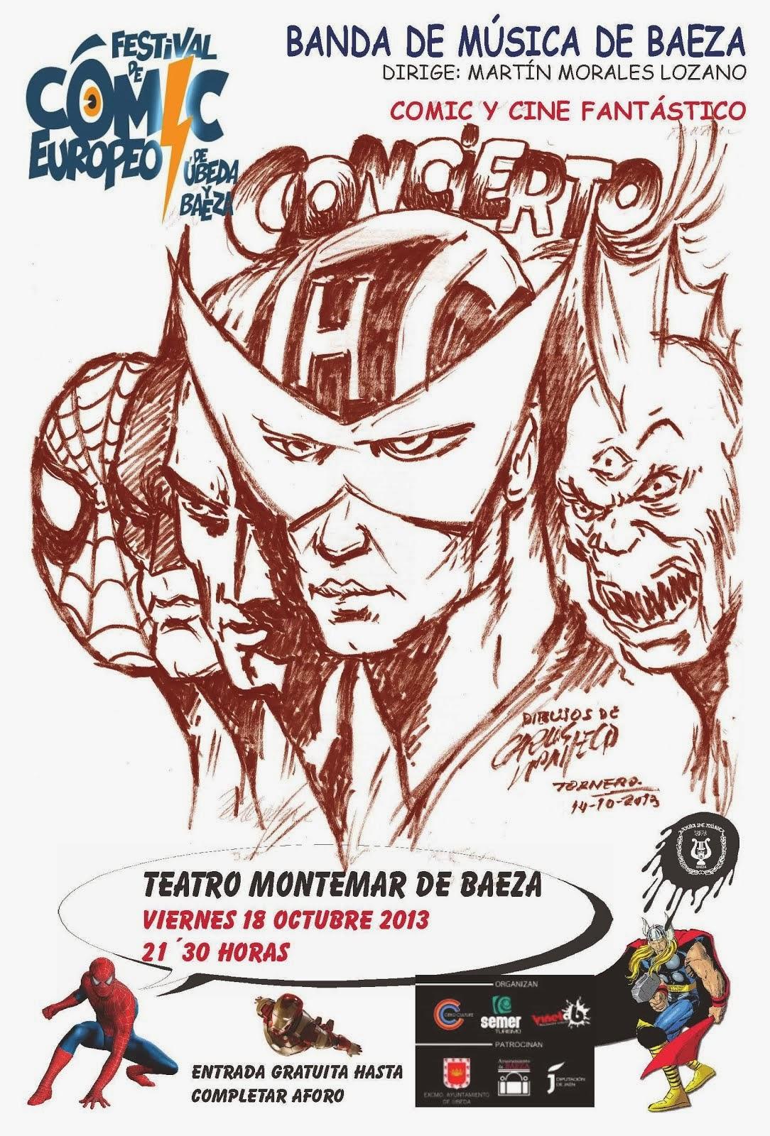 I FESTIVAL INTERNACIONAL DEL COMIC - BAEZA y ÚBEDA - CONCIERTO