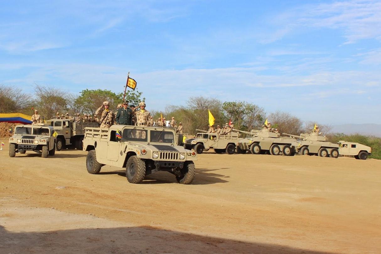 Vehículos blindados del Ejército de Colombia, pertenecientes al Grupo Blindado Matamoros