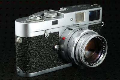 The Leica M2, a 35mm Film Rangefinder
