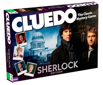 Juego Cluedo versión Sherlock Holmes