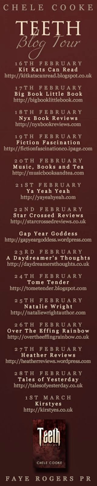 Teeth Blog Tour