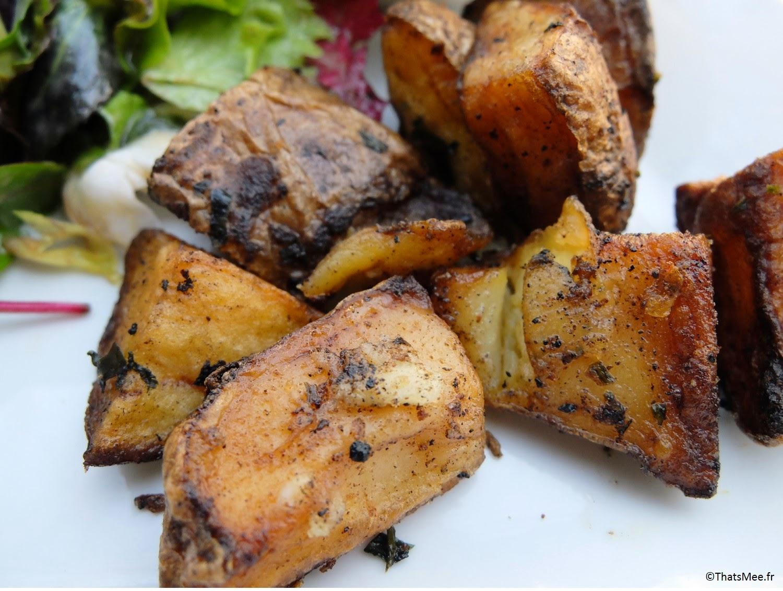 pommes de terre pdt sautées brunch Le Beaumarchais Paris Bastille café restaurant, brunch pas cher à Paris Beaumarchais