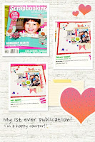 1st Publication - Scrapbooking Memories Magazine Vol 15 No 5