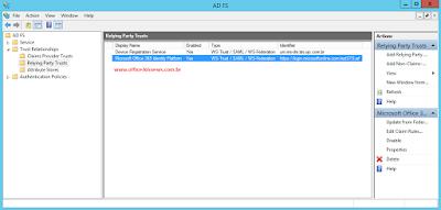 Permitindo múltiplos domínios no AD FS 3.0 para o Office 365
