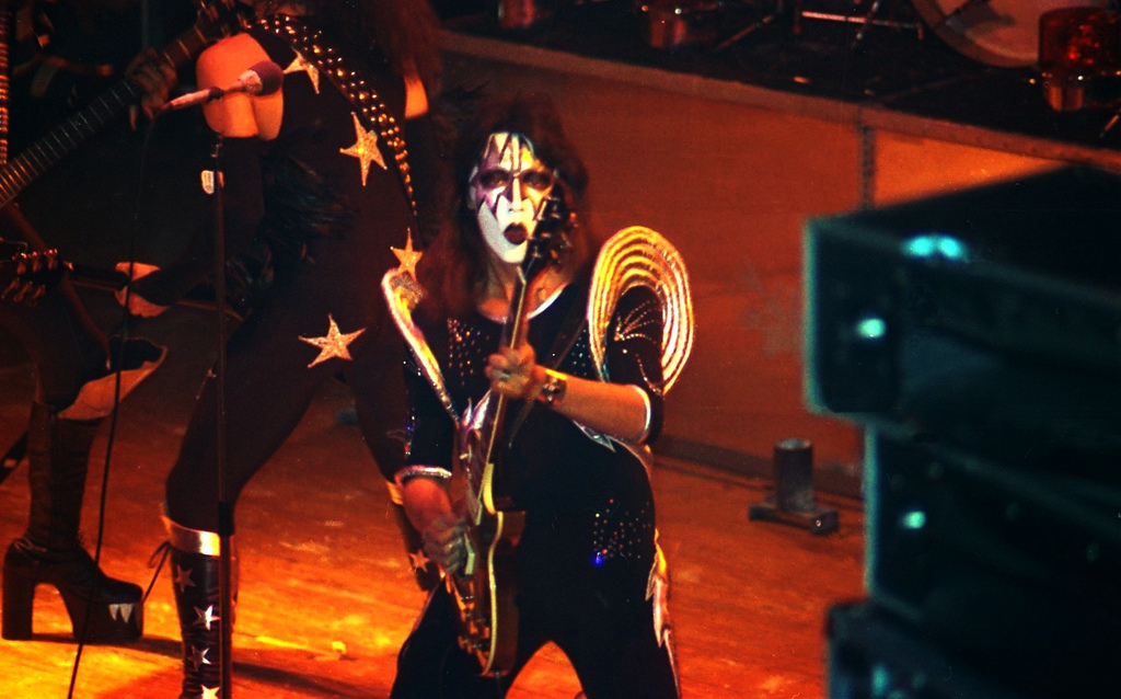 Kissopolis Live Kiss Photos From Germany In 1976