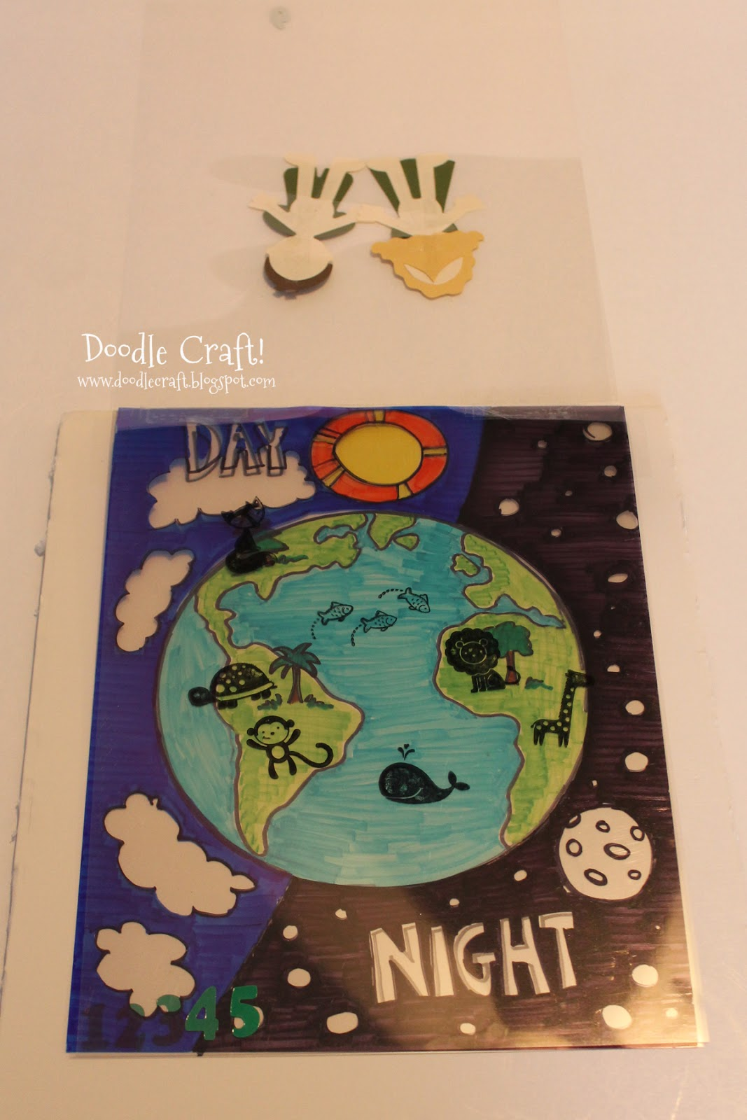 doodlecraft the creation lesson bible story visual aid