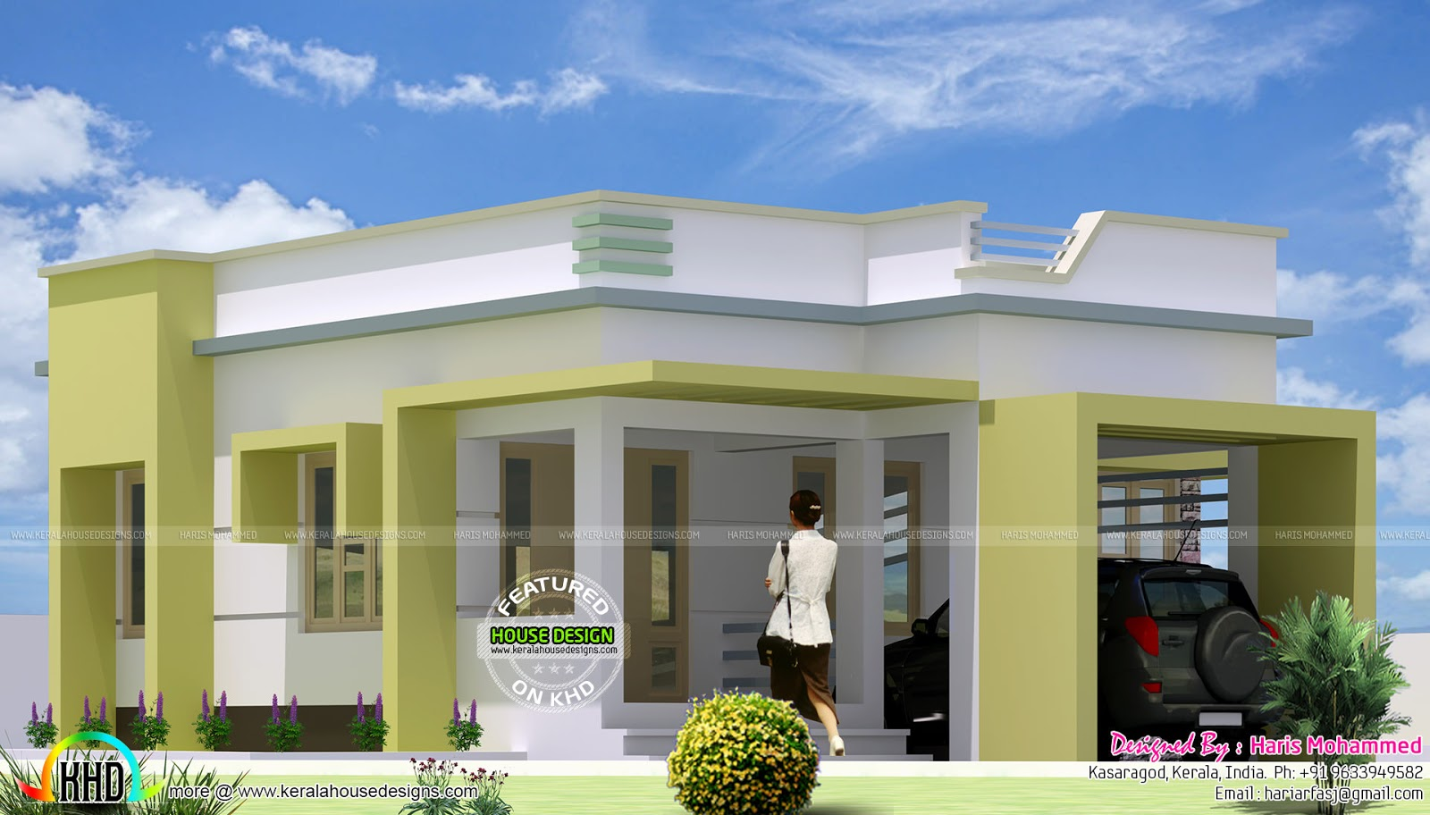 Single Home Designs Entrancing January 2016  Kerala Home Design And Floor Plans Design Ideas