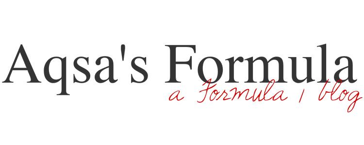 Aqsa's Formula