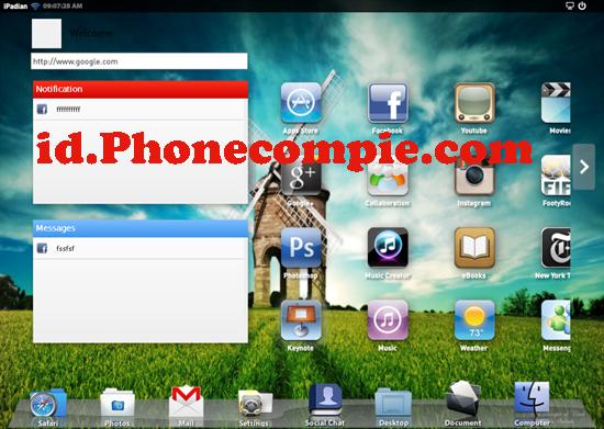 iPadian Solusi Buat yang Ingin Coba Fitur iPad