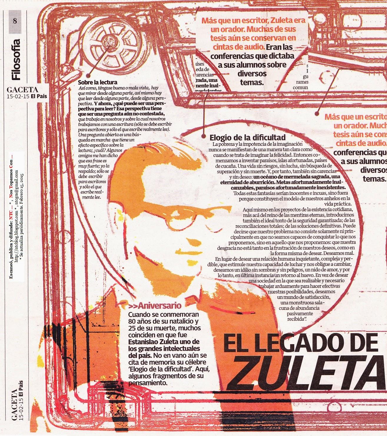 Ver PDF: Sobre la lectura, Estanislao Zuleta - Inicio