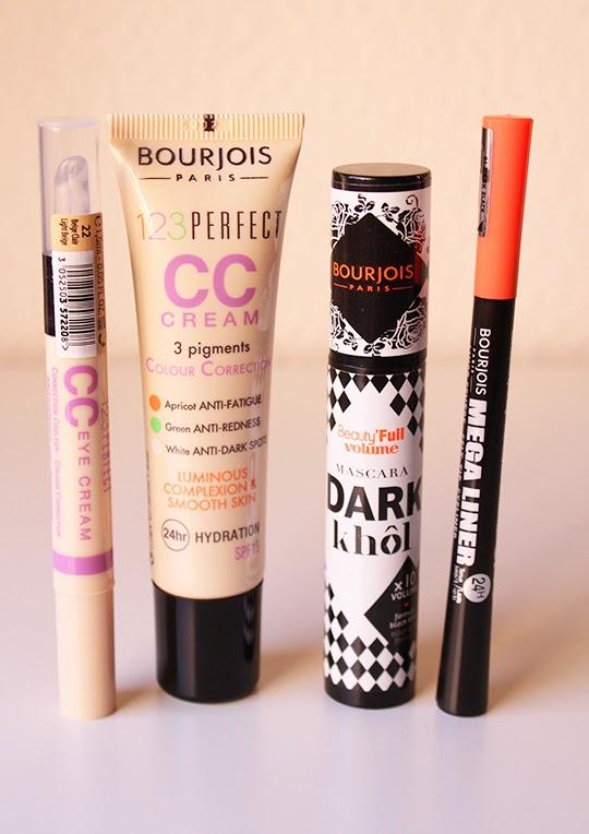 CC Cream, CC Eye Cream, Mega Liner y Dark Khol