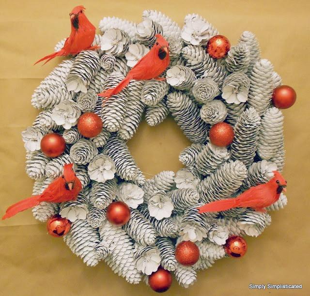 dollar tree christmas holiday door frame decor the birds say tweet tweet this wreath is so sweet
