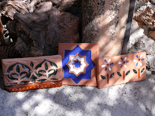 handmade terracotta tiles from spain