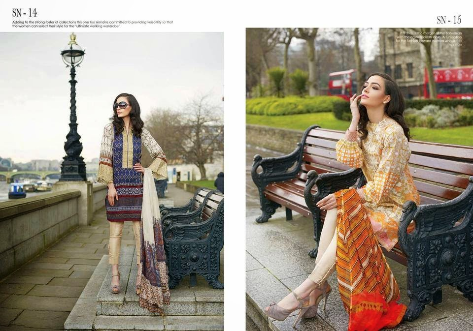 Sobia Nazir Trendy Summer wear Lawn Dresses