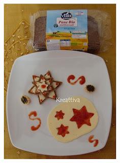 antipasto stelle formaggio
