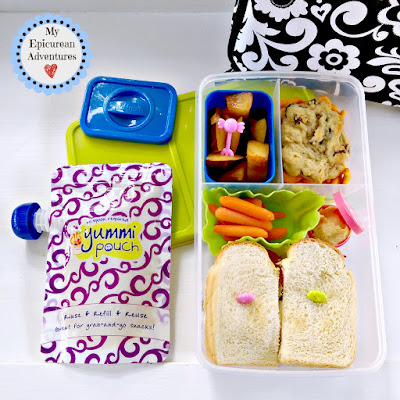 My Epicurean Adventures: Lunch Box Fun 2015-16: Week #3. Lunch box ideas, school lunch ideas, lunches