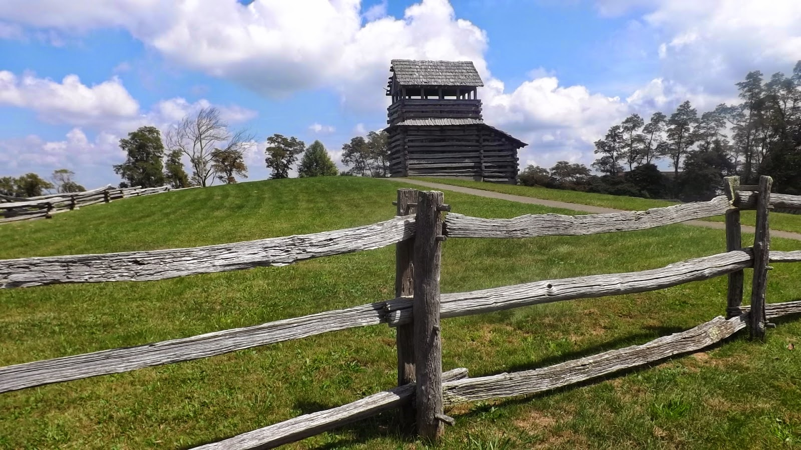 Groundhog Mountain overlook VA