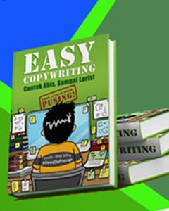 Jual buku Easy Copywriting Eceran dan Grosir di lhokseumawe