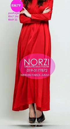 NBH0282 FARIZAH JUBAH (NURSING AND MATERNITY FRIENDLY)
