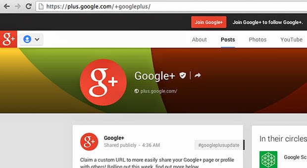 Como ter sua URL personalizada no Google Plus