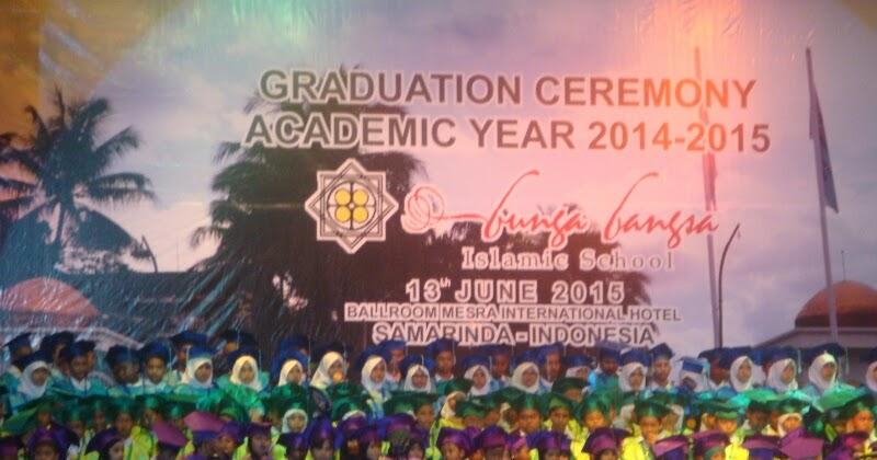 Wisuda Akbar Sekolah Islam Bunga Bangsa Tahun 2015