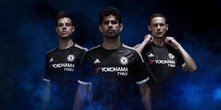 Oficial  Nueva camiseta alternativa adidas del Chelsea c952cbe205714