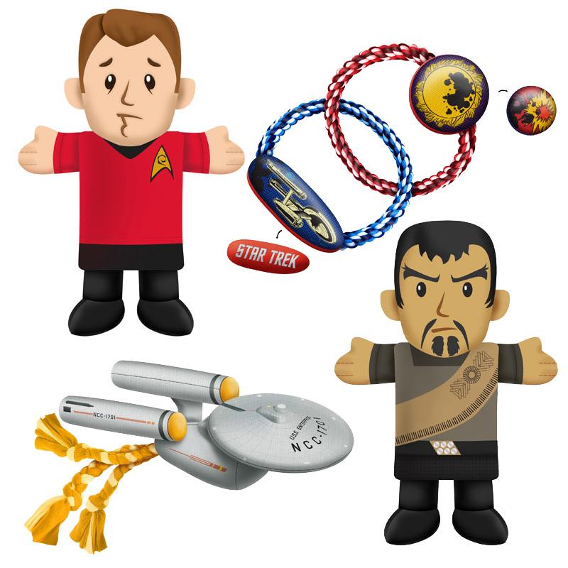 Star Trek Dog Toys Star Trek Plush Chew Toys