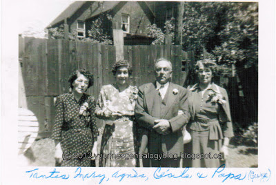 George Vanasse and his sisters Mary Agnes and Celia in June 1950
