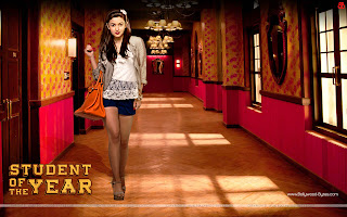 Student Of The Year HD Wallpaper Hot Alia Bhatt
