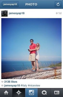 James Yap girlfriend instagram photo