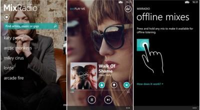 Nokia MixRadio v4.2.0.312 Kini Tersedia Untuk Windows Phone